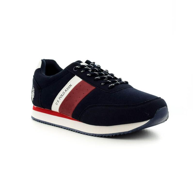 U.S.Polo fűzős sneaker dark blue  185189_B.jpg