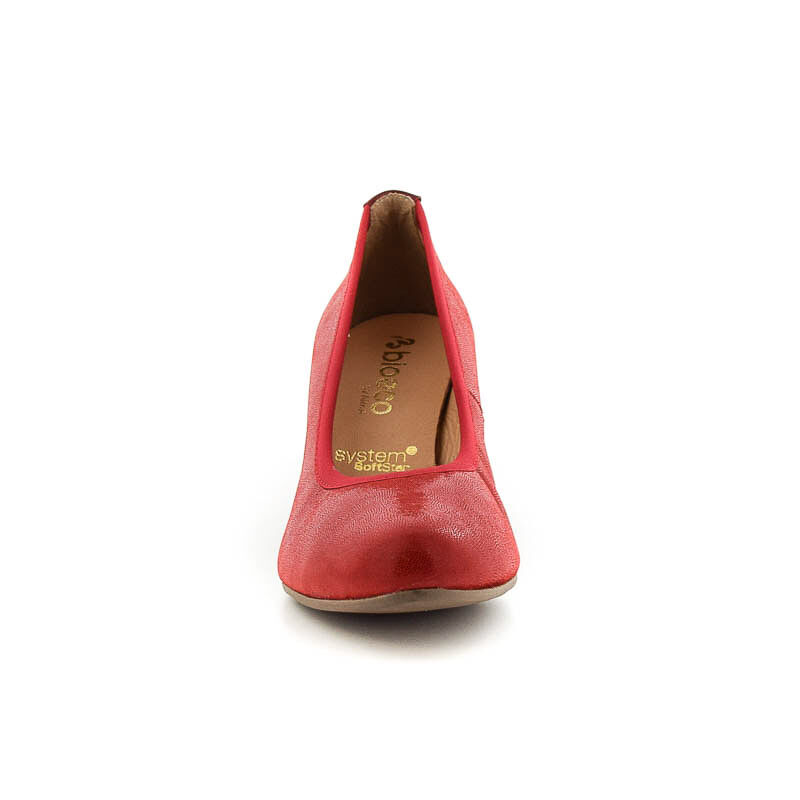 Bioeco bőr pumps 1796+0433 piros 185226_C.jpg
