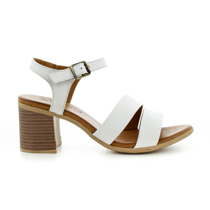 La Pinta szandál 01 white leather fehér  185251_A