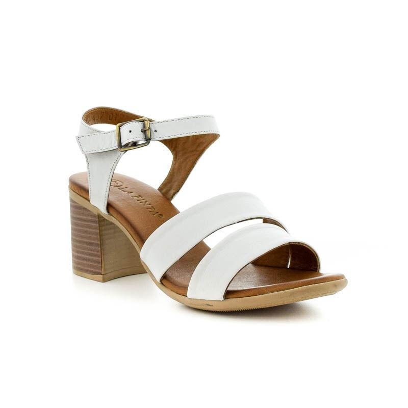 La Pinta szandál 01 white leather 185251_B.jpg
