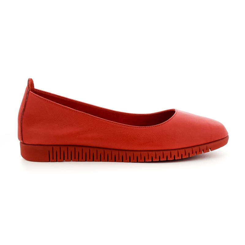 La Pinta félcipő 3255 red leatheer piros  185256_A