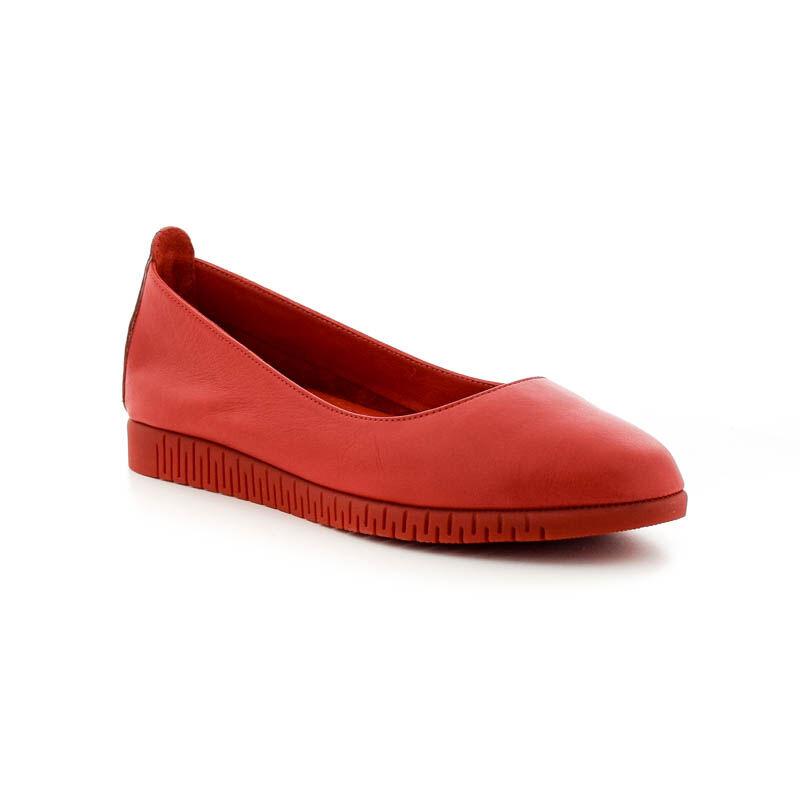 La Pinta félcipő 3255 red leatheer 185256_B.jpg