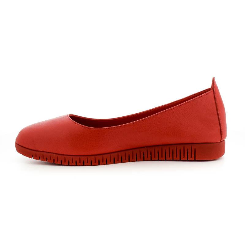 La Pinta félcipő 3255 red leatheer 185256_C.jpg