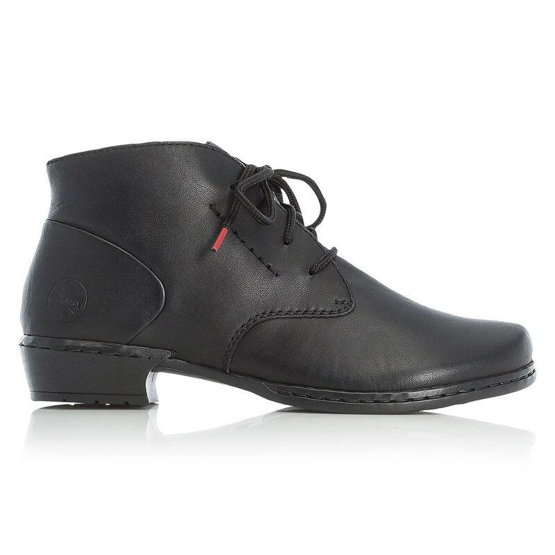 Rieker bokacipő/schwarz01 fekete  185757_A