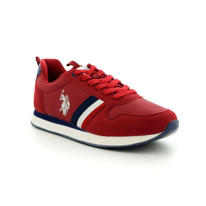 U.S.Polo sportcipő/ red 187204_B.jpg