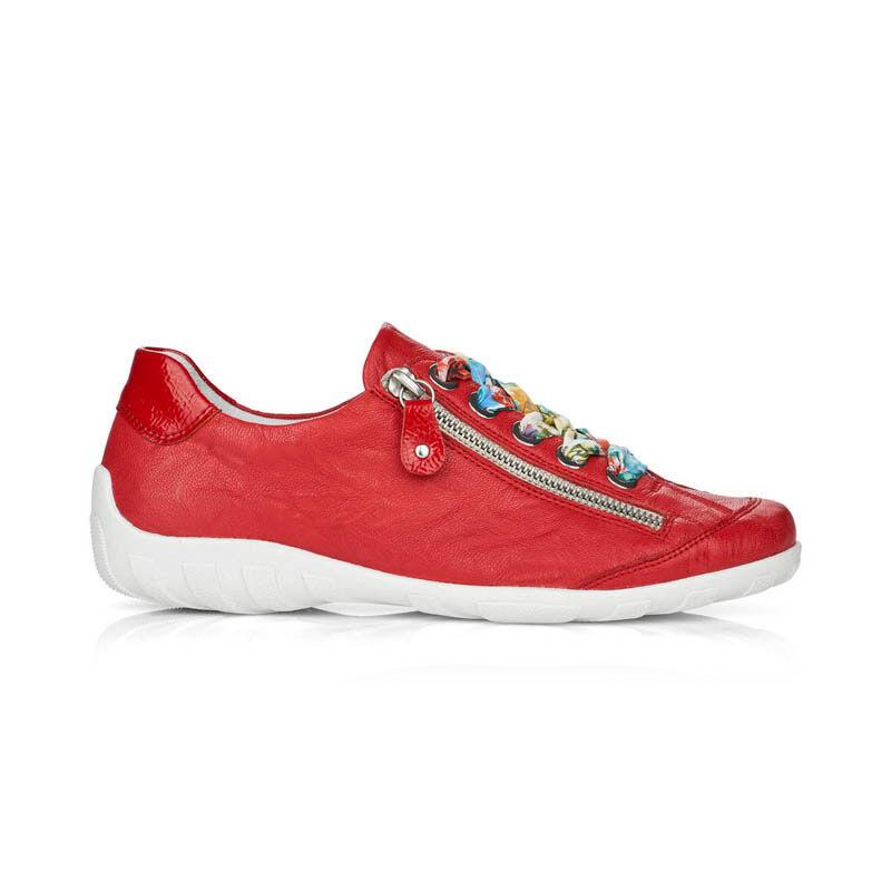 Rieker női félcipő /piros  piros  187689_A