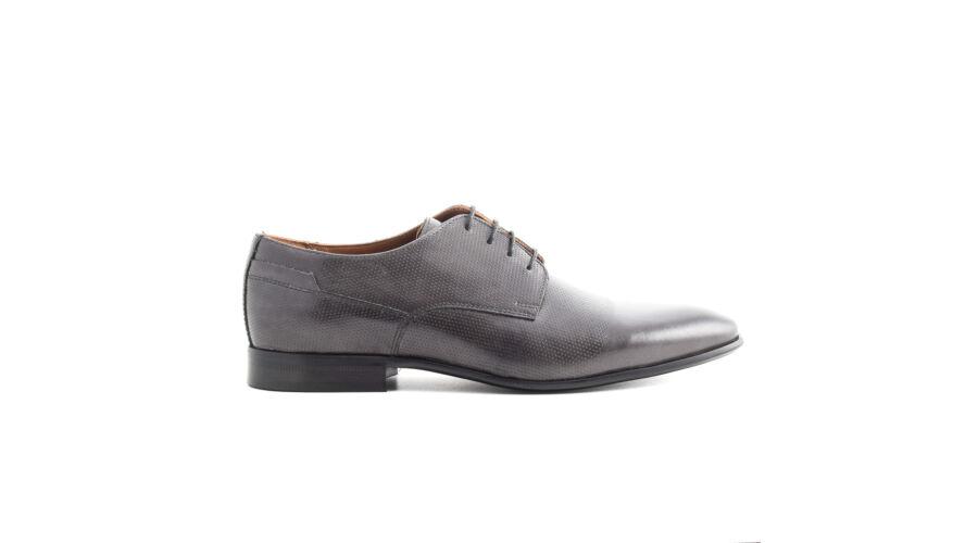 Simonetti fűzős alkalmi bőr cipő szürke 40.0 f8ea0524c8